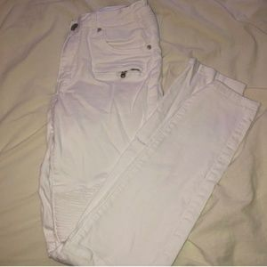American Bazi Jeans - White Highwaisted Jeans
